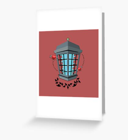 The Love Zapper Greeting Card