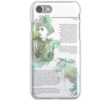 1916 commemorative print: Countess Markievicz iPhone Case/Skin