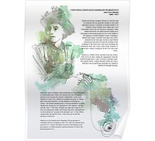 1916 commemorative print: Countess Markievicz Poster