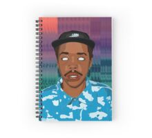 earl sweatshirt Spiral Notebook