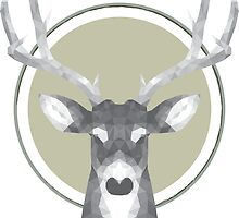 Low Poly Deer by crnj