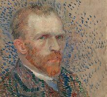 Vincent Van Gogh - Self-portrait, March 1887 - June 1887 by famousartworks
