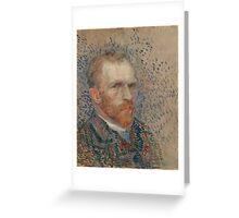 Vincent Van Gogh - Self-portrait, March 1887 - June 1887 Greeting Card