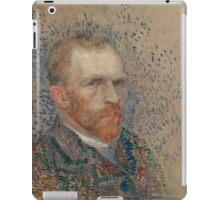 Vincent Van Gogh -  Post- Impressionism Oil Painting , Self-portrait, March 1887 - June 1887 iPad Case/Skin