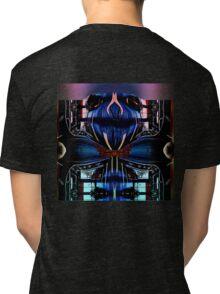 Face Man Tri-blend T-Shirt