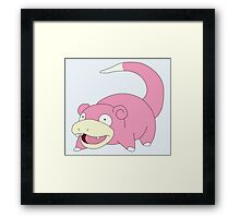 Slow is good - pokemon style Framed Print