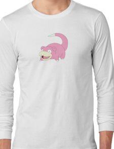 Slow is good - pokemon style Long Sleeve T-Shirt