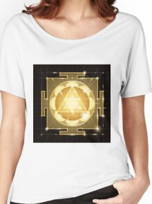 Yantra Sree Ganesha. Women's Relaxed Fit T-Shirt