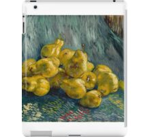 Vincent Van Gogh  Post- Impressionism Oil Painting, Still Life with Quinces, 1888 - 1889 iPad Case/Skin