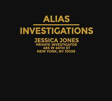 'Alias Investigations' Jessica Jones Inspired Print Unisex T-Shirt