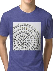 Penguins Spiral Tri-blend T-Shirt