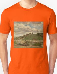 Vincent Van Gogh - The hill of Montmartre with stone quarry, June 1886 - July 1886 T-Shirt