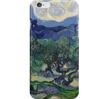 Vincent Van Gogh - The Olive Trees, 1889 iPhone Case/Skin