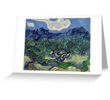 Vincent Van Gogh - The Olive Trees, 1889 Greeting Card