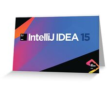 Intellij IDEA 15 Greeting Card