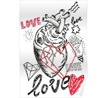 Love art sketch Poster