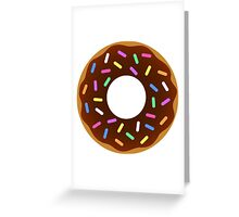 Chocolate Clipart Candy Food Greeting Card