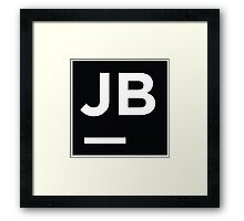 Jetbrains logo Framed Print