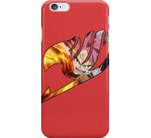 Fire natsu guild mark iPhone Case/Skin