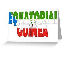 Equatorial Guinea Greeting Card