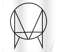 Owsla Label by Skrillex (White) Poster