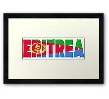 Eritrea Framed Print