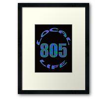 Local Life 805 Opal Framed Print