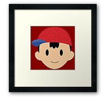 Ness (Fabric) Framed Print