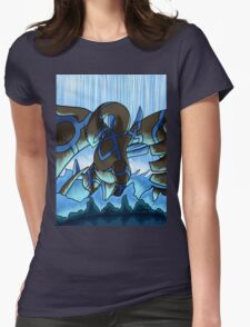 Earthbound Immortal Dark Lugia remake2016 Womens Fitted T-Shirt