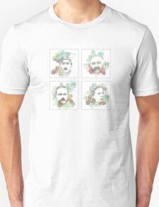 1916 commemorative print: 16 leaders 1-4 SQUARE T-Shirt