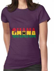 Ghana Womens Fitted T-Shirt