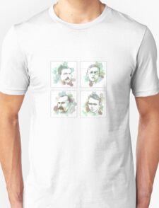 1916 commemorative print: 16 leaders 5-8 SQUARE T-Shirt