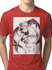 Succubus Maid Tri-blend T-Shirt