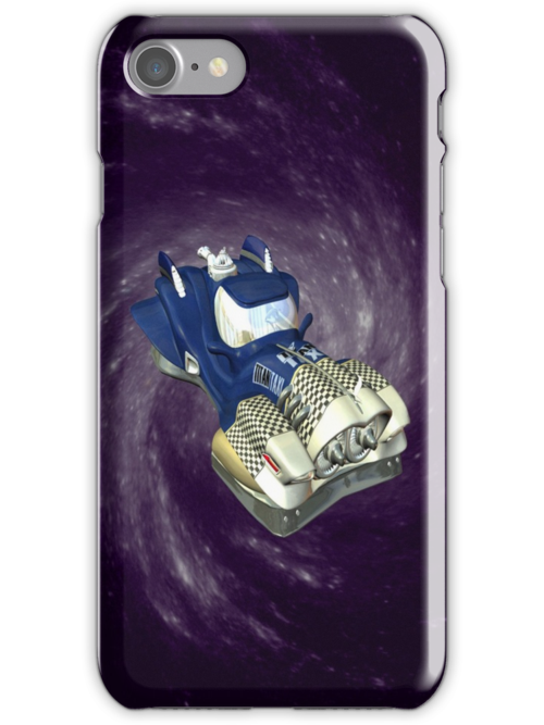 Space Car .. iphone case by LoneAngel
