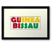 Guinea Bissau Framed Print