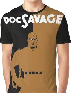 DOC SAVAGE Graphic T-Shirt