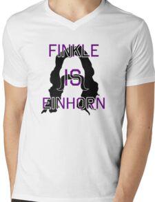 Finkle IS Einhorn Mens V-Neck T-Shirt