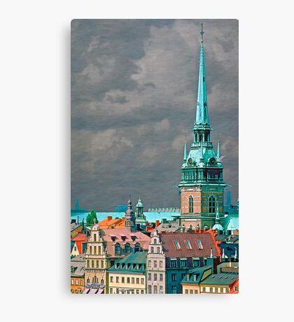 Sweden - Stockholm, Gamla stan Canvas Print