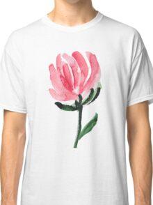 Watercolor Tulip Flower Classic T-Shirt