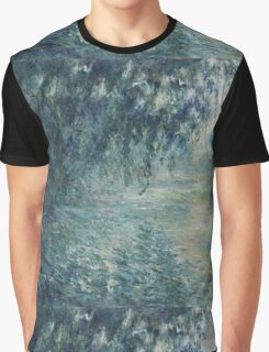 Claude Monet - Morning on the Seine Graphic T-Shirt