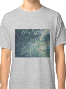 Claude Monet - Morning on the Seine Classic T-Shirt