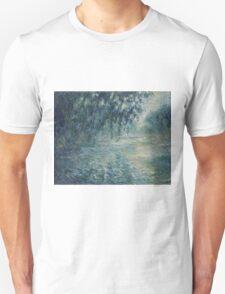 Claude Monet - Morning on the Seine Unisex T-Shirt