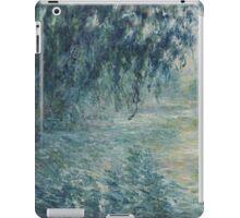 Claude Monet - Morning on the Seine iPad Case/Skin