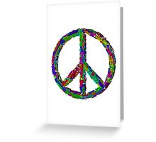 Peace Languages Greeting Card
