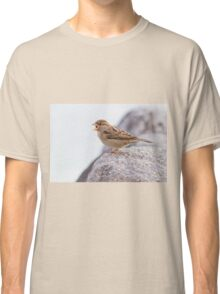 bird at lake Classic T-Shirt