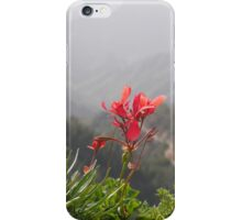 A flower with a view iPhone Case/Skin