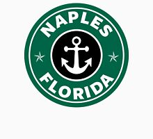 NAPLES, FLORIDA Green And Black Coffee Logo Art Print  Unisex T-Shirt