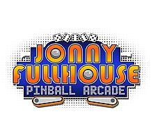 The World Famous Jonny Fullhouse Pinball Arcade Photographic Print