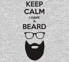 Keep Calm I have a Beard by mymainmandeebo