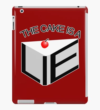 The Cake Is A Lie iPad Case/Skin